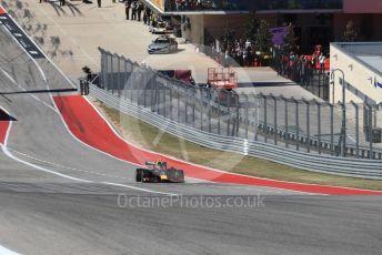 World © Octane Photographic Ltd. Formula 1 – United States GP - Race. Aston Martin Red Bull Racing RB15 – Alexander Albon. Circuit of the Americas (COTA), Austin, Texas, USA. Sunday 3rd November 2019.