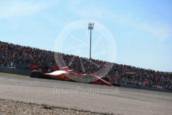 World © Octane Photographic Ltd. Formula 1 – United States GP - Race. Scuderia Ferrari SF90 – Charles Leclerc. Circuit of the Americas (COTA), Austin, Texas, USA. Sunday 3rd November 2019.
