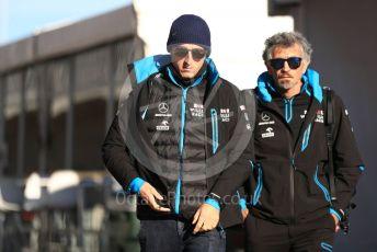 World © Octane Photographic Ltd. Formula 1 – United States GP - Paddock. ROKiT Williams Racing FW42 – Robert Kubica. Circuit of the Americas (COTA), Austin, Texas, USA. Friday 1st November 2019.