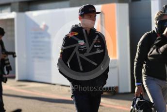 World © Octane Photographic Ltd. Formula 1 – United States GP - Paddock. Aston Martin Red Bull Racing RB15 – Max Verstappen. Circuit of the Americas (COTA), Austin, Texas, USA. Friday 1st November 2019.
