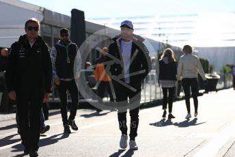 World © Octane Photographic Ltd. Formula 1 – United States GP - Paddock. Mercedes AMG Petronas Motorsport AMG F1 W10 EQ Power+ - Valtteri Bottas. Circuit of the Americas (COTA), Austin, Texas, USA. Friday 1st November 2019.