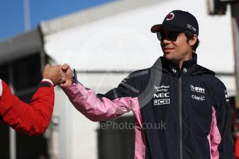 World © Octane Photographic Ltd. Formula 1 – United States GP - Paddock. SportPesa Racing Point RP19 – Lance Stroll. Circuit of the Americas (COTA), Austin, Texas, USA. Saturday 2nd November 2019.