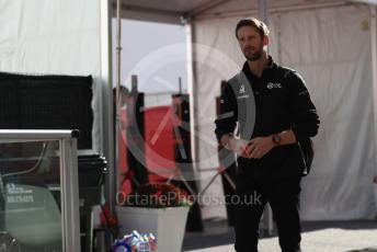 World © Octane Photographic Ltd. Formula 1 – United States GP - Paddock. Haas F1 Team VF19 – Romain Grosjean. Circuit of the Americas (COTA), Austin, Texas, USA. Sunday 3rd November 2019.