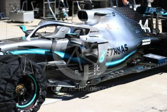 World © Octane Photographic Ltd. Formula 1 – United States GP - Pit Lane. Mercedes AMG Petronas Motorsport AMG F1 W10 EQ Power+. Circuit of the Americas (COTA), Austin, Texas, USA. Thursday 31st October 2019.