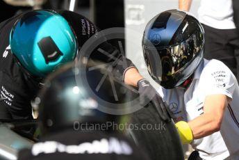 World © Octane Photographic Ltd. Formula 1 – United States GP - Pit Lane. Mercedes AMG Petronas Motorsport AMG F1 W10 EQ Power+. Circuit of the Americas (COTA), Austin, Texas, USA. Thursday 31st October 2019.