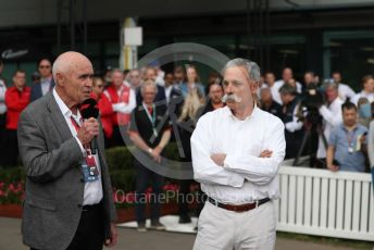 World © Octane Photographic Ltd. Formula 1 - Hungarian GP – Friday FIA Special Press Conference. Melbourne, Australia. Paul Little - Australian Grand Prix Corporation Chairman and Chase Carey - Chief Executive Officer of the Formula One Group. Friday 13th March 2020.