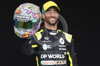 World © Octane Photographic Ltd. Formula 1 – F1 Australian Grand Prix - FIA photocall. Renault DP World F1 Team RS20 – Daniel Ricciardo. Melbourne, Australia. Thursday 12th March 2020.