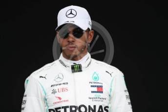 World © Octane Photographic Ltd. Formula 1 – F1 Australian Grand Prix - FIA photocall. Mercedes AMG Petronas F1 W11 EQ Performance - Lewis Hamilton. Melbourne, Australia. Thursday 12th March 2020.