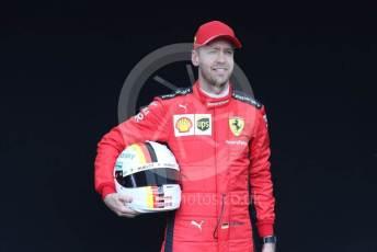 World © Octane Photographic Ltd. Formula 1 – F1 Australian Grand Prix - FIA photocall. Scuderia Ferrari SF1000 – Sebastian Vettel. Melbourne, Australia. Thursday 12th March 2020.
