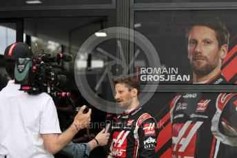 World © Octane Photographic Ltd. Formula 1 – F1 Australian Grand Prix - Setup and arrivals. Haas F1 Team VF20 – Romain Grosjean. Melbourne, Australia. Thursday 12th March 2020.