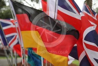 World © Octane Photographic Ltd. Formula 1 – F1 Australian Grand Prix – Flags on the Melbourne walk. Melbourne, Australia. Thursday 12th March 2020.