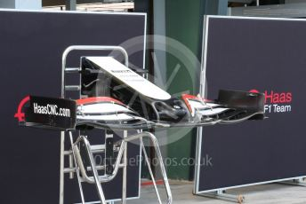 World © Octane Photographic Ltd. Formula 1 – F1 Australian Grand Prix. Haas F1 Team VF20 front wing. Melbourne, Australia. Wednesday 11th March 2020.