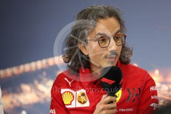 World © Octane Photographic Ltd. Formula 1 – F1 Pre-season Test 1 - Day 3 Press Conference. Laurent Mekies – Sporting Director of Scuderia Ferrari. Circuit de Barcelona-Catalunya, Spain. Friday 21st February 2020.