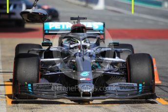 World © Octane Photographic Ltd. Formula 1 – F1 Pre-season Test 1 - Day 3. Mercedes AMG Petronas F1 W11 EQ Performance - Lewis Hamilton. Circuit de Barcelona-Catalunya, Spain. Friday 21st February 2020.