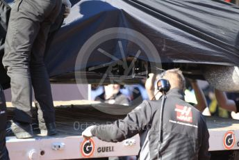 World © Octane Photographic Ltd. Formula 1 – F1 Pre-season Test 1 - Day 3. Haas F1 Team VF20 – Kevin Magnussen. Circuit de Barcelona-Catalunya, Spain. Friday 21st February 2020.