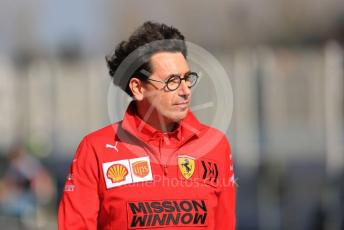 World © Octane Photographic Ltd. Formula 1 – F1 Pre-season Test 1 - Day 3. Mattia Binotto – Team Principal of Scuderia Ferrari. Circuit de Barcelona-Catalunya, Spain. Friday 21st February 2020.