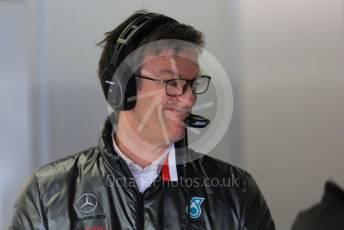 World © Octane Photographic Ltd. Formula 1 – F1 Pre-season Test 1 - Day 3. James Allison - Technical Director of Mercedes - AMG Petronas Motorsport. Circuit de Barcelona-Catalunya, Spain. Friday 21st February 2020.