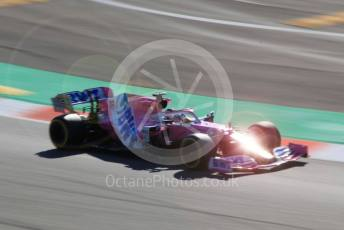 World © Octane Photographic Ltd. Formula 1 – F1 Pre-season Test 2 - Day 1. BWT Racing Point F1 Team RP20 – Lance Stroll. Circuit de Barcelona-Catalunya, Spain. Wednesday 26th February 2020.