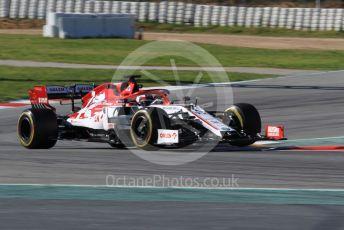 World © Octane Photographic Ltd. Formula 1 – F1 Pre-season Test 2 - Day 1. Alfa Romeo Racing Orlen C39 – Kimi Raikkonen. Circuit de Barcelona-Catalunya, Spain. Wednesday 26th February 2020.