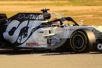 World © Octane Photographic Ltd. Formula 1 – F1 Pre-season Test 2 - Day 1. Scuderia AlphaTauri Honda AT01 – Daniil Kvyat. Circuit de Barcelona-Catalunya, Spain. Wednesday 26th February 2020.