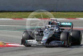 World © Octane Photographic Ltd. Formula 1 – F1 Pre-season Test 2 - Day 2. Mercedes AMG Petronas F1 W11 EQ Performance - Valtteri Bottas. Circuit de Barcelona-Catalunya, Spain. Thursday 27th February 2020.