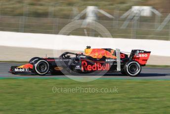 World © Octane Photographic Ltd. Formula 1 – F1 Pre-season Test 2 - Day 3. Aston Martin Red Bull Racing RB16 – Alexander Albon. Circuit de Barcelona-Catalunya, Spain. Friday 28th February 2020.