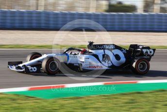 World © Octane Photographic Ltd. Formula 1 – F1 Pre-season Test 2 - Day 3. Scuderia AlphaTauri Honda AT01 – Daniil Kvyat. Circuit de Barcelona-Catalunya, Spain. Friday 28th February 2020.
