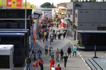 World © Octane Photographic Ltd. Formula 1 – F1 Pre-season Test 2 - Day 3. The paddock. Circuit de Barcelona-Catalunya, Spain. Friday 28th February 2020.