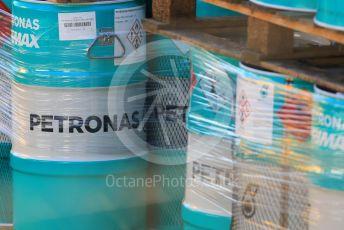 World © Octane Photographic Ltd. Formula 1 – F1 Pre-season Test 2 - Day 3. Mercedes AMG Petronas F1 W11 EQ Performance fuel. Circuit de Barcelona-Catalunya, Spain. Friday 28th February 2020.