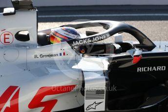 World © Octane Photographic Ltd. Formula 1 – F1 Pre-season Test 2 - Day 3. Haas F1 Team VF20 – Romain Grosjean. Circuit de Barcelona-Catalunya, Spain. Friday 28th February 2020.
