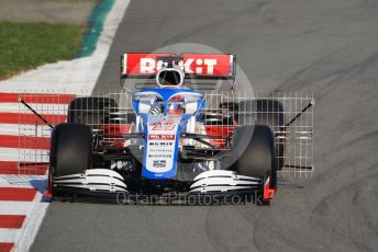 World © Octane Photographic Ltd. Formula 1 – F1 Pre-season Test 1 - Day 1. ROKiT Williams Racing FW 43 – George Russell. Circuit de Barcelona-Catalunya, Spain. Wednesday 19th February 2020.