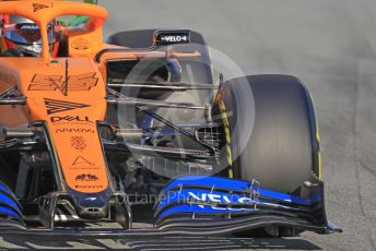 World © Octane Photographic Ltd. Formula 1 – F1 Pre-season Test 1 - Day 1. McLaren MCL35 – Carlos Sainz. Circuit de Barcelona-Catalunya, Spain. Wednesday 19th February 2020.