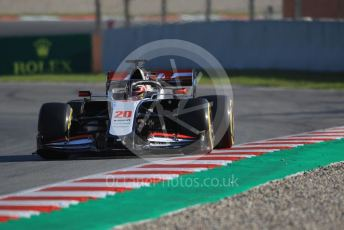 World © Octane Photographic Ltd. Formula 1 – F1 Pre-season Test 1 - Day 1. Haas F1 Team VF20 – Kevin Magnussen. Circuit de Barcelona-Catalunya, Spain. Wednesday 19th February 2020.