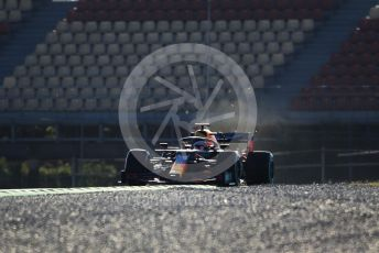 World © Octane Photographic Ltd. Formula 1 – F1 Pre-season Test 1 - Day 1. Aston Martin Red Bull Racing RB16 – Max Verstappen. Circuit de Barcelona-Catalunya, Spain. Wednesday 19th February 2020.