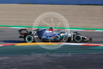 World © Octane Photographic Ltd. Formula 1 – F1 Pre-season Test 1 - Day 1. Mercedes AMG Petronas F1 W11 EQ Performance - Valtteri Bottas. Circuit de Barcelona-Catalunya, Spain. Wednesday 19th February 2020.