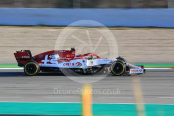 World © Octane Photographic Ltd. Formula 1 – F1 Pre-season Test 1 - Day 1. Alfa Romeo Racing Orlen C39 Reserve Driver – Robert Kubica. Circuit de Barcelona-Catalunya, Spain. Wednesday 19th February 2020.