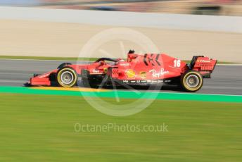 World © Octane Photographic Ltd. Formula 1 – F1 Pre-season Test 1 - Day 1. Scuderia Ferrari SF1000 – Charles Leclerc. Circuit de Barcelona-Catalunya, Spain. Wednesday 19th February 2020.
