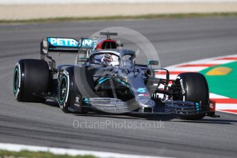 World © Octane Photographic Ltd. Formula 1 – F1 Pre-season Test 1 - Day 2. Mercedes AMG Petronas F1 W11 EQ Performance - Lewis Hamilton. Circuit de Barcelona-Catalunya, Spain. Thursday 20th February 2020.