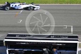 World © Octane Photographic Ltd. Formula 1 – F1 Pre-season Test 1 - Day 2. Scuderia AlphaTauri Honda AT01 – Pierre Gasly. Circuit de Barcelona-Catalunya, Spain. Thursday 20th February 2020.