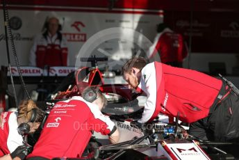 World © Octane Photographic Ltd. Formula 1 – F1 Pre-season Test 1 - Day 2. Alfa Romeo Racing Orlen C39. Circuit de Barcelona-Catalunya, Spain. Thursday 20th February 2020.
