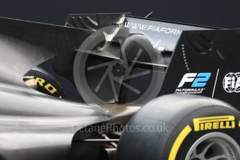 World © Octane Photographic Ltd. Formula 1 - Italian Grand Prix – FIA Formula 2 2018 Car Launch. Monza, Italy. Thursday 31st August 2017. Digital Ref: 1936LB1D0496