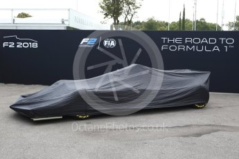 World © Octane Photographic Ltd. Formula 1 - Italian Grand Prix – FIA Formula 2 2018 Car Launch. Monza, Italy. Thursday 31st August 2017. Digital Ref: 1936LB2D7627