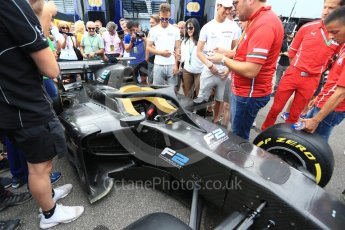 World © Octane Photographic Ltd. Formula 1 - Italian Grand Prix – FIA Formula 2 2018 Car Launch. Monza, Italy. Thursday 31st August 2017. Digital Ref: 1936LB2D7726