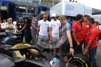 World © Octane Photographic Ltd. Formula 1 - Italian Grand Prix – FIA Formula 2 2018 Car Launch. Monza, Italy. Thursday 31st August 2017. Digital Ref: 1936LB2D7742