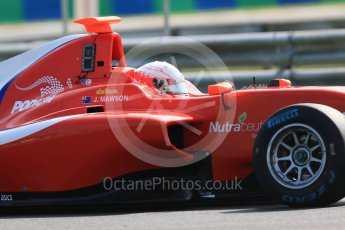 World © Octane Photographic Ltd. GP3 – Hungarian GP – Practice. Arden International - Joey Mawson. Hungaroring, Budapest, Hungary. Friday 27th July 2018.