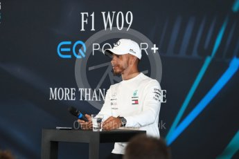 World © Octane Photographic Ltd. Formula 1 –. Mercedes AMG Petronas Motorsport AMG F1 W09 EQ Power+ launch, Lewis Hamilton – Silverstone, UK. Thursday 22nd February 2018. Digital Ref : 2020LB1D7903