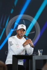 World © Octane Photographic Ltd. Formula 1 –. Mercedes AMG Petronas Motorsport AMG F1 W09 EQ Power+ launch, Lewis Hamilton – Silverstone, UK. Thursday 22nd February 2018. Digital Ref : 2020LB1D7943