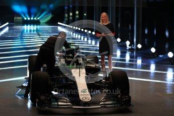 World © Octane Photographic Ltd. Formula 1 –. Mercedes AMG Petronas Motorsport AMG F1 W09 EQ Power+ launch – Silverstone, UK. Thursday 22nd February 2018. Digital Ref : 2020LB1D8059
