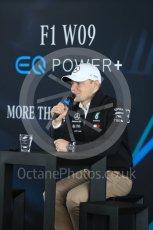 World © Octane Photographic Ltd. Formula 1 –. Mercedes AMG Petronas Motorsport AMG F1 W09 EQ Power+ launch, Valtteri Bottas – Silverstone, UK. Thursday 22nd February 2018. Digital Ref : 2020LB1D8258