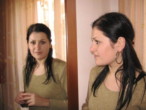 Woman in mirror, Witness Self, Divine human nature, divinity, divine source, octavia brooks, shamanic healing